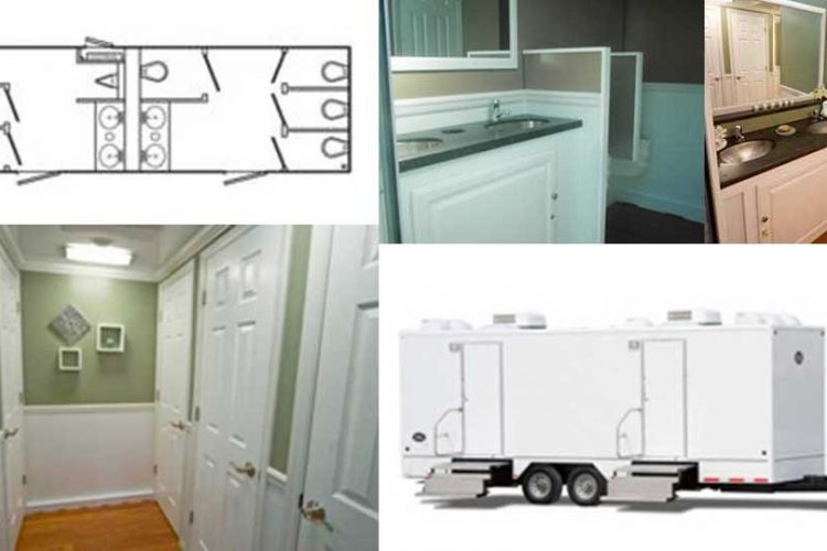 Air Conditioned Portable Restroom Rental Hudson Valley New York